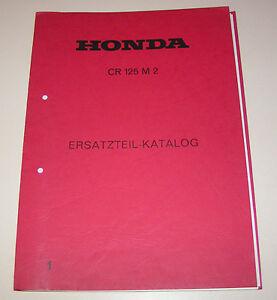 Catálogo de Piezas de Repuesto / Regiones List Honda Cr 125 M 2