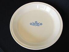"Corning Ware Blue Cornflower 9"" Pie Dish P-309 Pan Plate"