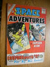 Space Adventures #39 G- Captain Atom  Ditko art