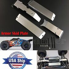 USA Metal Chassis Protection Armor Skid Plate for 1/10 Traxxas TRX-4 E-Revo 2.0
