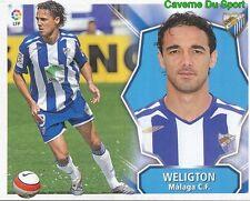 WELIGTON BRAZIL MALAGA.CF STICKER LIGA ESTE 2009 PANINI