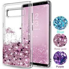 For Samsung Galaxy S20 Ultra A71 A70 A50 S10 Case Glitter Liquid Quicksand Cover