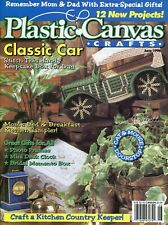 Plastic Canvas Crafts Magazine ~ June 1996, 12 plastic canvas projects
