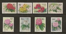China PRC 1991 T162  Sc#2330-7 Varieties of Rhododendrons, MNH. O.Gum.