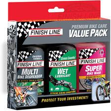 Finish Bike Care value pack (4 oz Multi / Bike Wash / Wet)