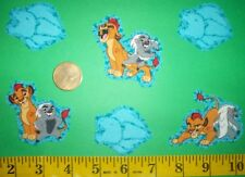 New! Disney's Pixar's The Lion Guard Iron-on Fabric Appliques ~ Iron ons