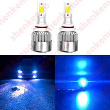 NEW 9007 HB5 8000K Ice Blue 8000LM COB LED Headlight Bulbs Kit High & Low Beam