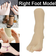 Party Fake Right Foot Model Silicone Female Foot Display Simulation Model Feet