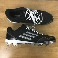 Adidas Men's Size 13 Black Football Cleats Camouflage Bottom #753001 #SB08