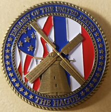 DIPLOMATIC SECURITY SERVICE RSO SPECIAL AGENT CHALLENGE COIN 83