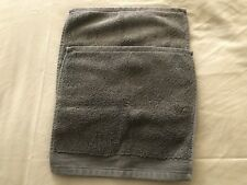 Wash Cloths - 2 by Noble Excellence 100% Cotton Dark Green Euc ships free