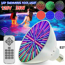 Color Change Led Swimming Pool Light Bulb 120V 35W Fits Pentair/Hayward Fixture