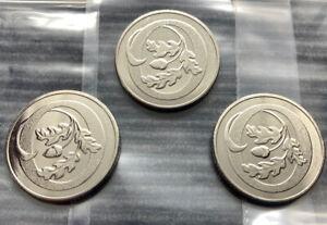 2019 3 x O for Oak 10p coin Royal Mint UNC A-Z Alphabet Coins