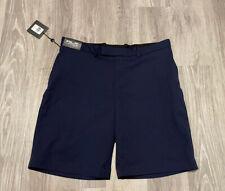 NWT - RALPH LAUREN RLX GOLF Men's Navy Stretch Moisture Wicking Golf Shorts- 38