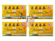 4 x China Jasmine Tea Bags 100 Pcs  Great Chinese Jasmine Tea Time At Work Break