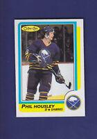 Phil Housley HOF 1986-87 O-PEE-CHEE Hockey #154 (NM+) Buffalo Sabres