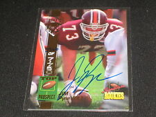 JIM PYNE ROOKIE HAND SIGNED AUTOGRAPHED CERTIFIED FOOTBALL CARD #'D