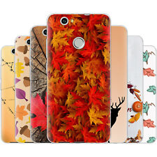 Dessana Autumn Pattern Silicone Protection Cover Case Phone For Huawei