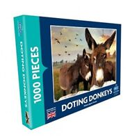 DOTING DONKEYS 1000 PIECE DELUXE JIGSAW PUZZLE - THE RSPCA COLLECTION