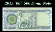 500 New Iraq Iraqi Dinar 2013 Notes x 10 = 5000 5,000 Uncirculated Collectible