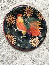 """Vintage Susan Winget - Rooster & Sunflower Certified Internat. 8.5"""" Salad Plate"""