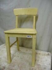 9875. Alter Jugendstil Stuhl Holzstuhl old wooden chair