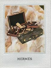 ▬► PUBLICITE ADVERTISING AD Hermès Bijoux Malette Briquet