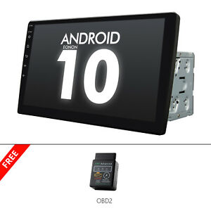 """OBD+ Android Car Stereo Double Din 10.1"""" Touch Screen Car GPS Navigation Stereo"""