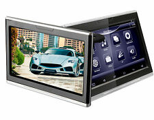 """Pair 10.1"""" Android 4.4 Car Headrest Media Player Touch Screen WIFI USB FM"""