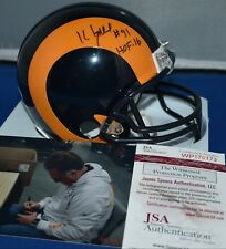 KEVIN GREENE AUTOGRAPHED MINI HELMET LOS ANGELES RAMS HOF 2016 PSA DNA 54275bcb4