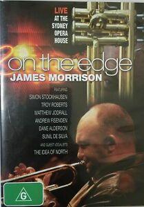 James Morrison : ON THE EDGE DVD (PAL, 2007) BRAND NEW & SEALED - FREE POST