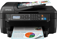 Precision Core Colour All In One Fax Printer With Duplex Wi-Fi Air Print Black