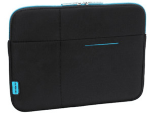 """Funda de Neopreno para portátil de hasta 13.3"""" Samsonite Airglow. Negro y azul."""
