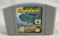 Chameleon Twist (Nintendo 64, 1997) N64 Authentic Cart Only Tested Works