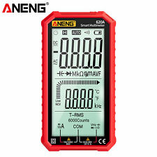Aneng 620a Lcd Digital Multimeter Trms 6000 Counts Auto Range Ncv Tester M2q4