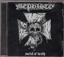 MEPHISTO - metal of death CD