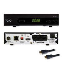 HD Kabel Receiver Xoro Digital HRK 7660 DVB-C USB TV Aufnahme PVR Mediaplayer C