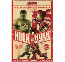 Avengers Age of Ultron Hulk vs Hulkbuster 61 x 91.5cm Poster #106 Iron Man