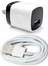 1x Wall Charger Adapter For iPhone 6s 7 8 Plus XS USB Data Sync Charging Cable