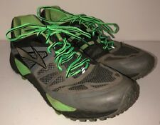 Brooks Cascadia Mens Green/Gray Athletic Sneakers Size 12