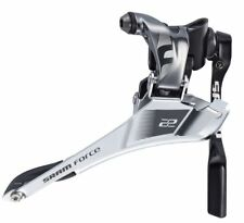 SRAM Force 22 Yaw Front Derailleur Braze-On 11-Speed Road Bike With Chain Spotter