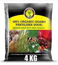 4kg PLATINUM Guano Organic Fertilizer HIGH-P + Trace Elements & FREE POST