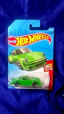 Hot Wheels Porsche 934 Turbo RSR Then And Now Series #2/10 Green Die-Cast New