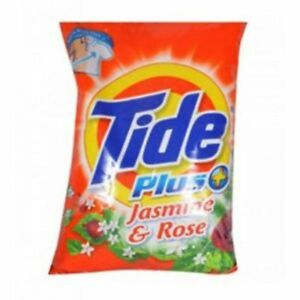 Tide 1Kg Laundry Detergent Powder Plus Jasmine & Rose Surf For Cloths Free Ship