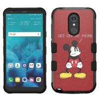 for LG Stylo 4 Armor Impact Hybrid Cover Case Mickey Mouse #GO