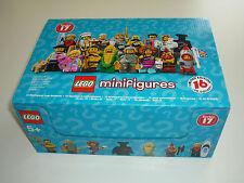 Minifigures 71018 lego série 17 complete de 16 minifigs dans boîte présentation