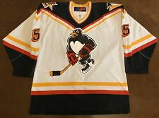 Rare 2001 AHL All Star Game Wilkes-Barre/Scranton Penguins Andrew Ference Jersey