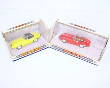 Matchbox DINKY Collection 1:43 2x JAGUAR E-TYPE CONVERTIBLE DY-1B DY-18 Car MIB!
