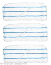 Black And Decker FSMP20 Steam Mop Pads for FSM1600 Pack of 3