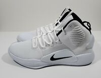 Nike Hyperdunk X TB Mens Basketball Shoes White Black Size 10.5